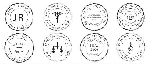 MarkMaster Designs And Manufactures Both Custom Regulation Seals Including